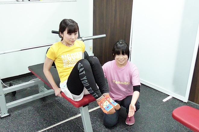 トレーニング写真