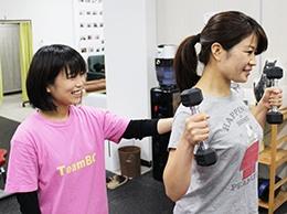 名古屋市南区でパーソナルトレーナー養成スクール(学校)生イメージ写真3